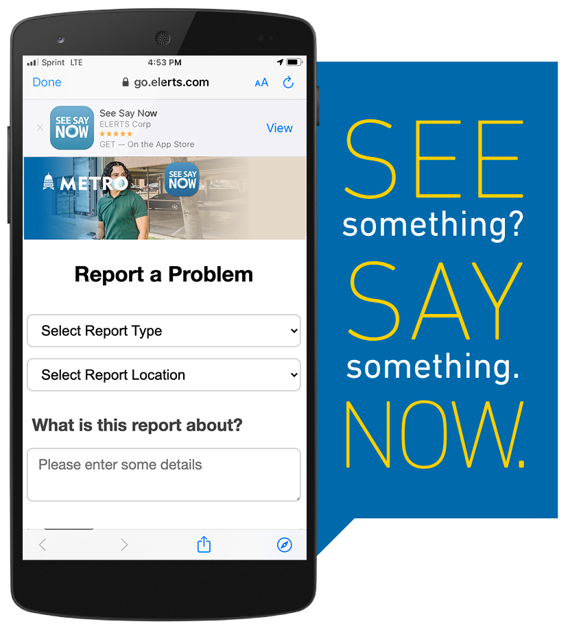 Screenshot of See Say Now app