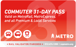 Metroworks Commuter-31 Day Pass