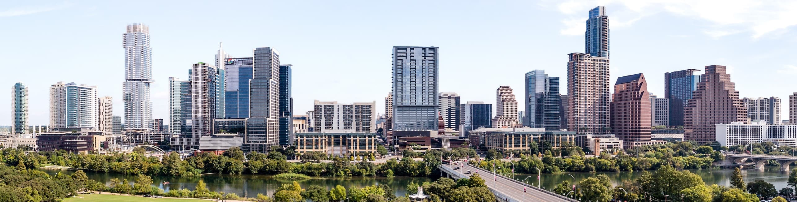 Beautiful image of Austin Texas's incredible skyline
