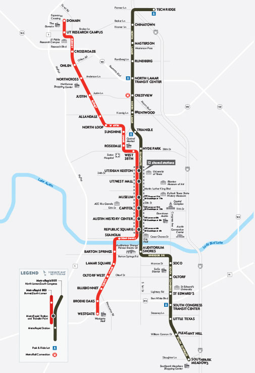 MetroRapid Route Downloadable Map