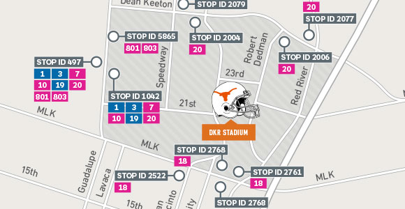 UT Game Day Map Chicklet