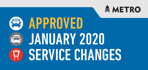 January Approved Service Change