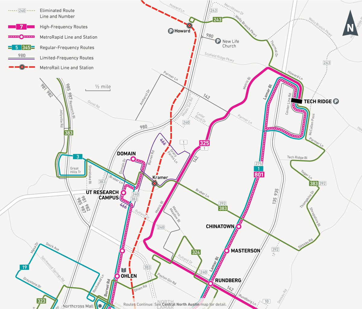 June Service Changes CapMetro Austin Public Transit - Austin metro area map