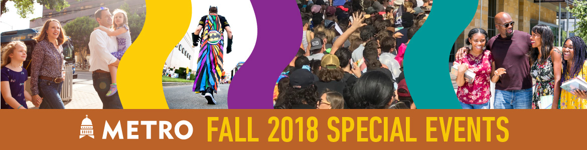 Fall 2018 Special Events